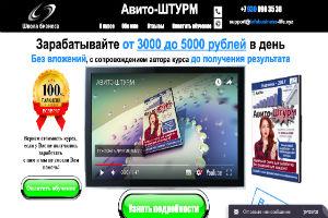 ОБЗОР КУРСА Авито-ШТУРМ Сергей Родной